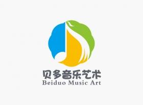 贝多音乐艺术中心Logo设计