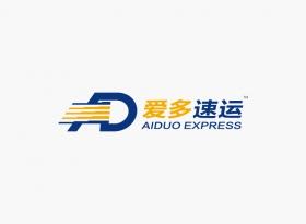 爱多速运logo设计