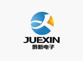 爵新电子公司logo设计