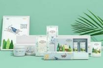 苏州高端网站设计:清新可爱的猫粮品牌包装设计