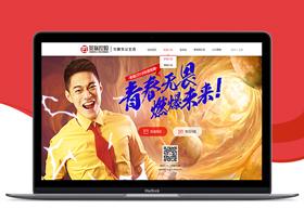 景瑞集团招聘网站设计
