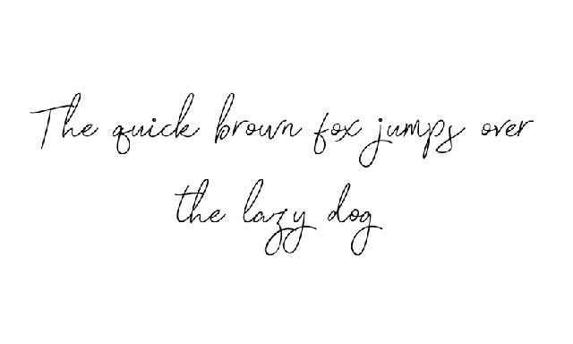分享10个设计项目的免费手写字体