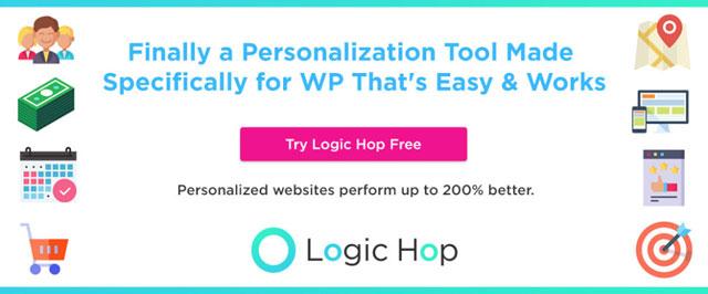 5. Logic Hop - WordPress的个性化营销