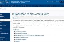 用于Web设计可访问性的工具和指南