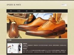 鞋帽专卖模板