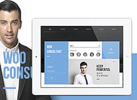 响应式法律咨询网站官网设计