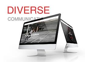 公关传媒的公司网页设计