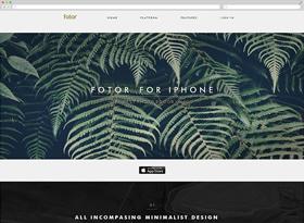 扁平化网页设计