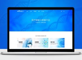 大數據醫療平臺網頁設計