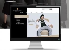 服裝設計類網站建設