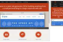 网站开发制作:响应式导航设计趋势