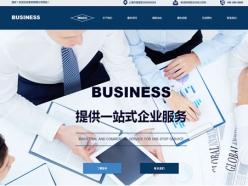 商务咨询服务公司模板