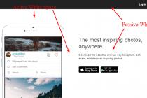 精美网页设计如何使用空白空间?