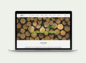 企業官方網站平面樣式