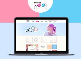 Sweet Color眼鏡品牌網站建設