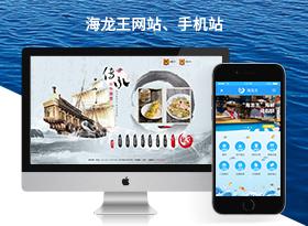 海龍王化石餅加盟網站建設