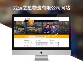 龙运之星物流公司网站建设