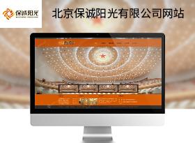 保誠陽光文化傳播公司網站建設