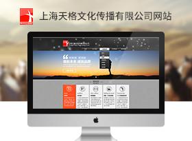 天格文化傳播公司網站建設