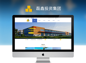 投资集团网站建设