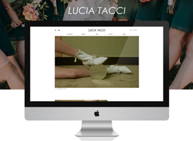 LUCIATACCI网站制作