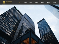 金融投資公司模板