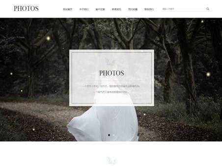 婚紗攝影工作室模板圖片