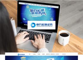 申万宏源招聘网站设计